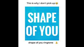 Shape of You (Marimba Remix) iPhone X Ringtone