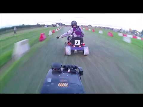 BLMRA 12 hour 2017 Onboard Lawn Mower Racing