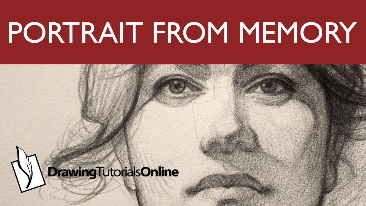Portrait Drawing From Your Memory