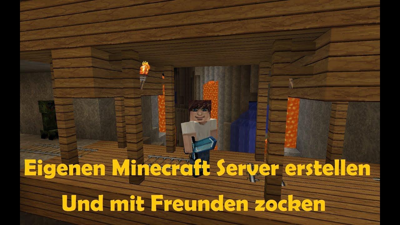 Minecraft Online Mit Freunden Spielen German HD YouTube - Minecraft server erstellen und mit freunden spielen