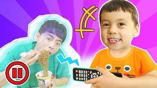 리모콘 챌린지! Kids Pause Challenge - 마슈토이 Mashu ToysReview