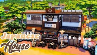 The Sims 4 | Традиционный японский дом | Строительство без CC