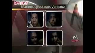 Zetas secuestran, torturan, y ejecutan a 4 marinos en Xalapa, Veracruz