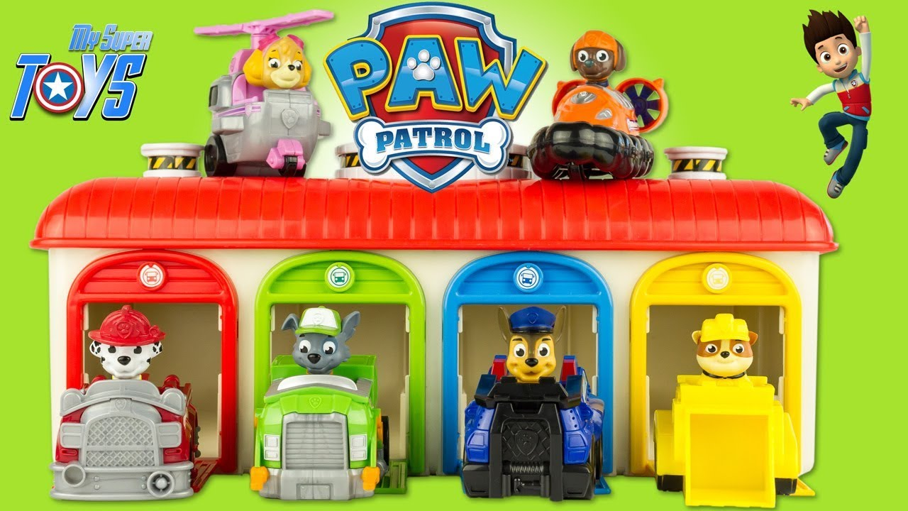Paw Patrol Paw Racer Gift Set 5 Vehicles Roll Patrol Toy Unboxing Review  Patrulla Canina 1cf970d9322f