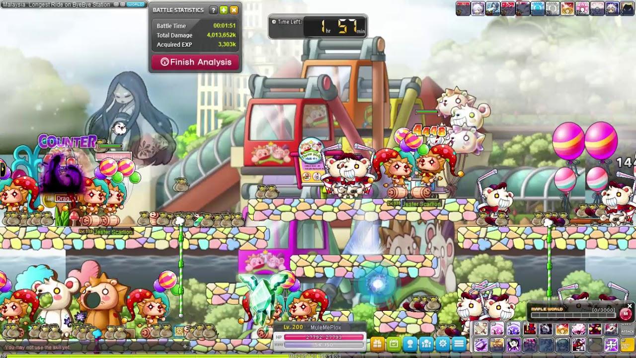 Gms Reboot Maplestory 5th Job Kanna Meso Farming Youtube