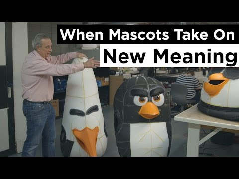 Edmonton's International Mascot Corporation - When Mascots Take On New Meaning