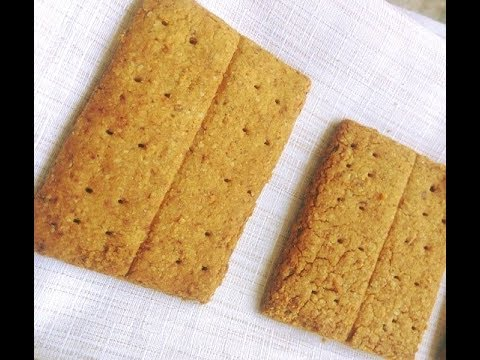graham-crackers-recipe-without-honey -how-to-make-graham-crackers-no-oven airfyer-recipe