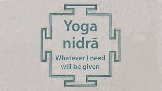 Yoga nidra | guided meditation | yogic sleep | relax & heal | śavāsana, shavasana