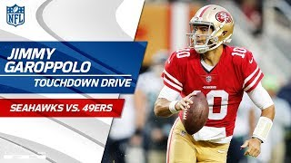 Jimmy Garoppolo Comes in the Game & Tosses Perfect TD Strike!   Seahawks vs. 49ers   NFL Wk 12