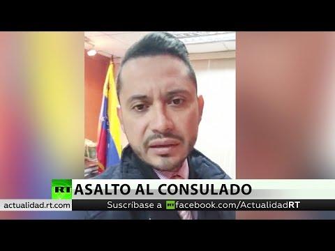 Asaltan sede de Consulado de Venezuela en Ecuador y agreden a personal diplomático