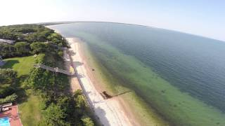East Hampton from above Part 1