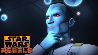 Star Wars Rebels Season 3 Thrawn Trailer and Episode 8 Explained
