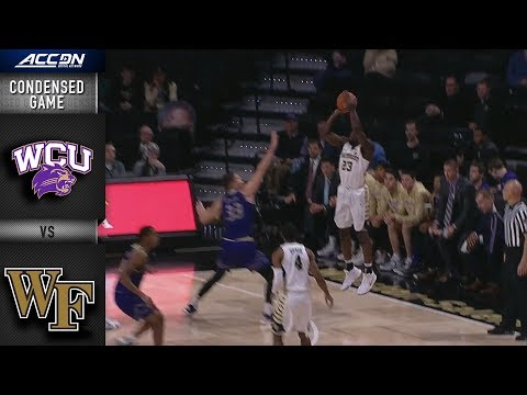 Western Carolina vs. Wake Forest Condensed Game | 2018-19 ACC Basketball