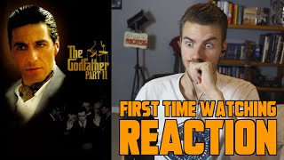 The Godfather Part II (1974) - MOVIE REACTION - FIRST TIME WATCHING