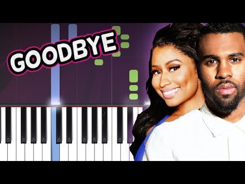 "Jason Derulo x David Guetta - ""Goodbye"" ft. Nicki Minaj, Willy William Piano Tutorial How To Play"