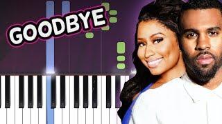 Jason Derulo x David Guetta - Goodbye ft. Nicki Minaj, Willy William Piano Tutorial How To Play