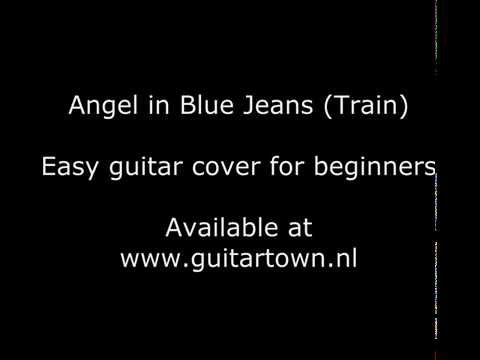 Angel in Blue Jeans (Train) acoustic guitar for beginners