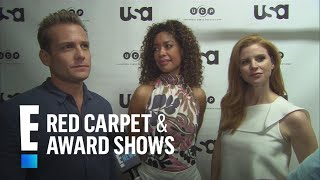 """""""Suits"""" Stars Talk Gina Torres' Exit From Series   E! Red Carpet & Award Shows"""
