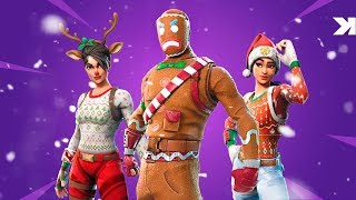 The most desired skins of this Christmas! (Fortnite Battle Royale)