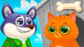ПЕСИК ДУДУ #11 КОТЕНОК БУБУ мультик про котика и собачку видео для детей от КИДА #ПУРУМЧАТА