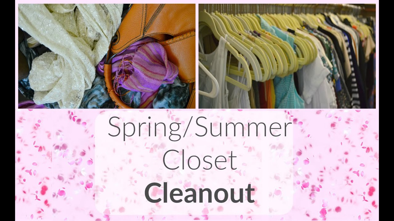 2016 Spring/Summer Closet Cleanout & Tour! || Life With ...
