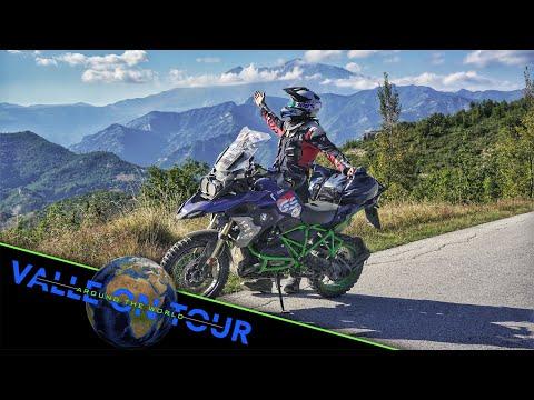 Der Traum einer Weltreise mit dem Motorrad