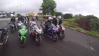 That Ass of Yamaha R1😍 - Superbikes FlyBys + Audi R8 | Bangalore reactions 40