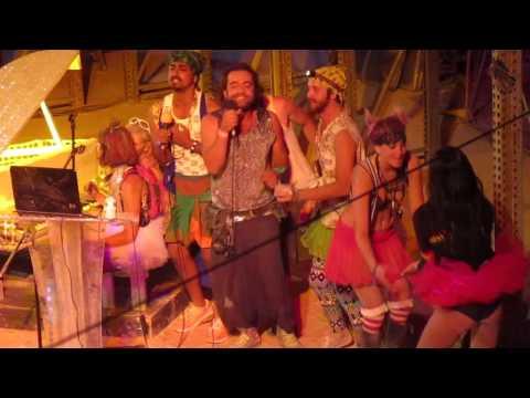 Karaoke at Burning Man