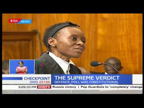 The Supreme Court:Verdict to determine way forward for Kenya