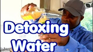 Easiest way to lose weight drinking detoxing water and eating healthy | Chef Ricardo Cooking