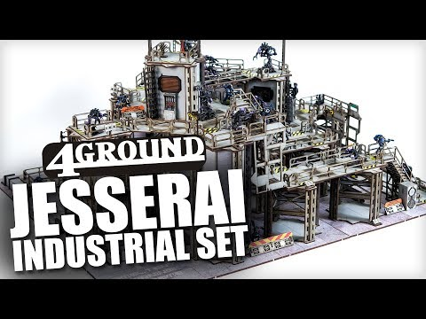Terrain Showcase: Jesserai Industrial Set & BUNDLE GIVEAWAY