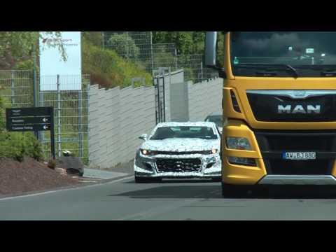 Chevrolet Camaro Zl Le Hot Lap Best