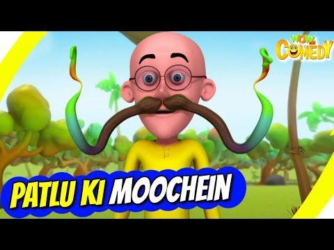 Motu Patlu- EP43A  Patlu Ki Moochein  Funny s For Kids  Wow Kidz Comedy