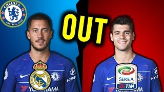 5 Players That Could Leave Chelsea in January 2019 ! Ft Hazard, Morata ...