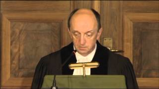 ICJ Delivers Judgment in Hissène Habré Case (Belgium v. Senegal) - Reading by President