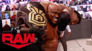 Bobby Lashley vs. Cedric Alexander: Raw, Apr. 5, 2021