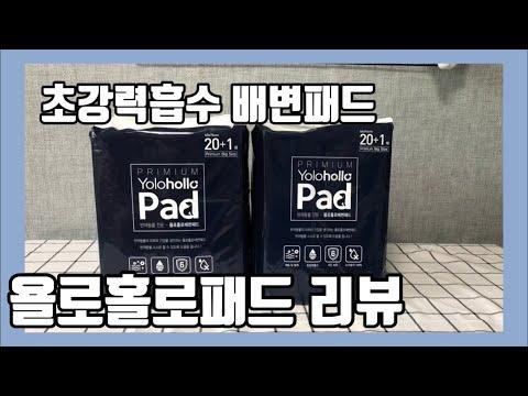 욜로홀로배변패드 리뷰 | 초강력흡수 | 강아지 배변패드 추천 | 애견 배변패드