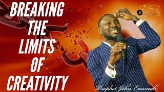 MIND AND CREATIVITY | HOW TO BREAK LIMITS OF CREATIVITY | 9TH APRIL 2020 | with prophet John Enumah