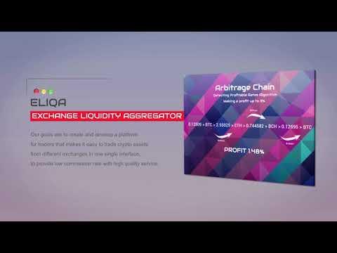 ELIQA - Exchange Liquidity Aggregator