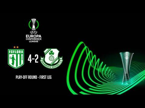 HIGHLIGHTS   Flora Tallinn 4-2 Shamrock Rover - UEFA Europa Conference League Play-Off Round
