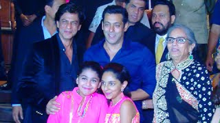 VIDEO Shah Rukh Khan Salman Khan Meet And Greet Again - Arpita Khan Reception Party