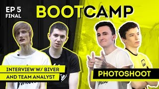 Na`Vi Bootcamp EP. 5 Final. Interview w/ Biver, Team analyst. Photoshoot [RU/EN]