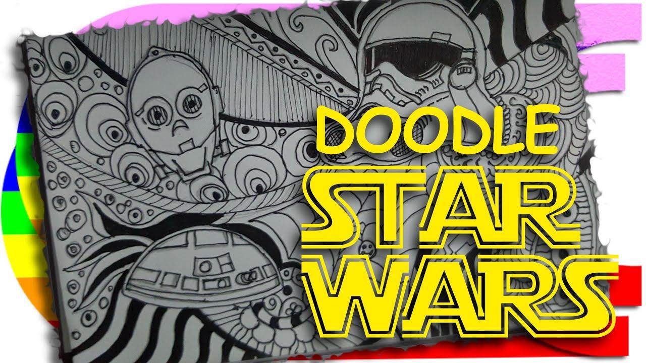 Doodle Art - Star Wars #2 - YouTube