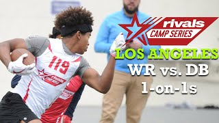 Rivals Camp Los Angeles: WR vs. DB 1-on-1s (2020)