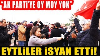 EYT'liler İsyan Etti. Ak Parti'ye Artık Oy Yok!