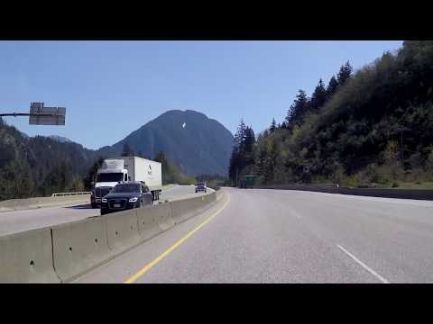 HOPE - British Columbia (BC) - Canada - Driving Tour in Small Town with Gorgeous Scenery