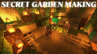[MINECRAFT] Secret Garden Making IN Twitch!