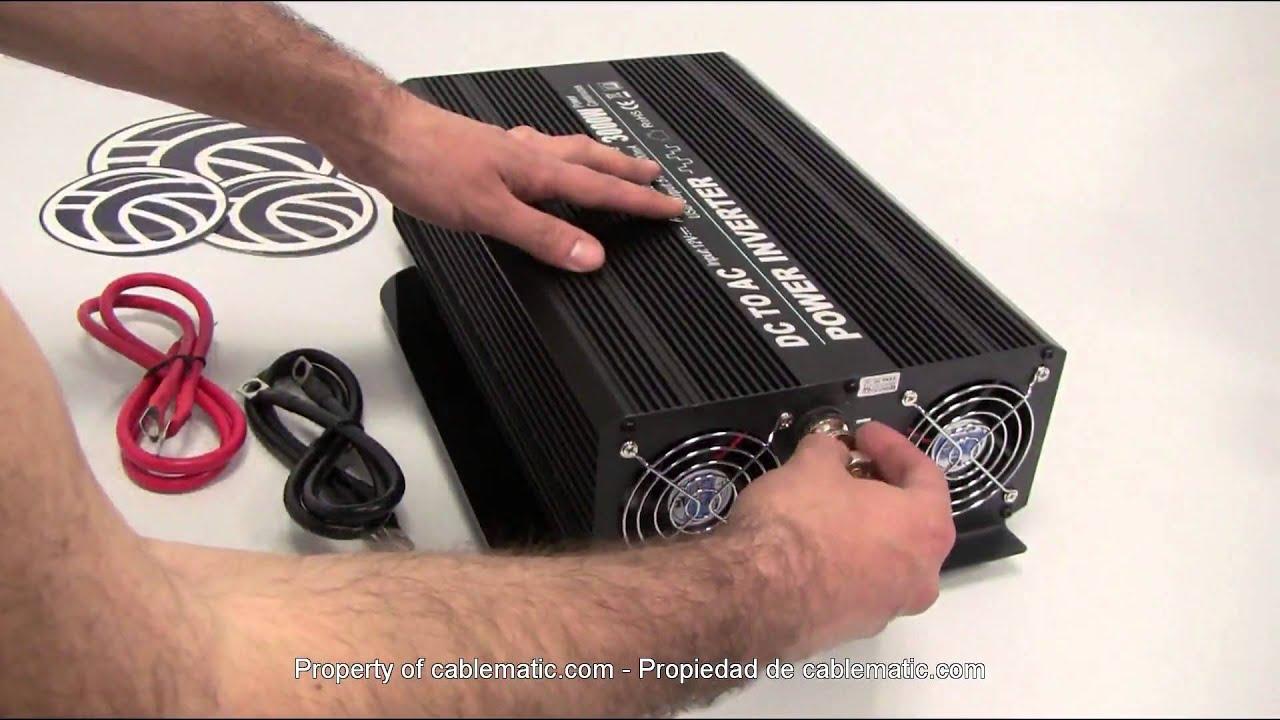 Modificata Onda Inverter 3000w 12v A 220v Distribuito