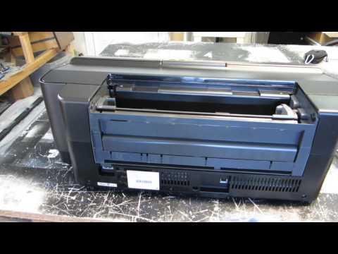 Epson 1430 / 1500w DIY DTG How to Build a Shirt Printer - Video 1
