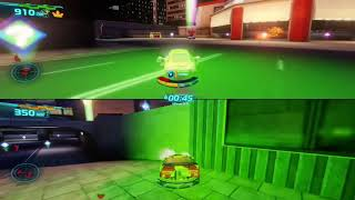 Cars 2 The Video Game | Acer and Miguel Camino - Tokyo Hunter mode on Easy mode |